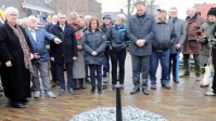 VIDEO: Lichtmonument in Lemmer onthuld